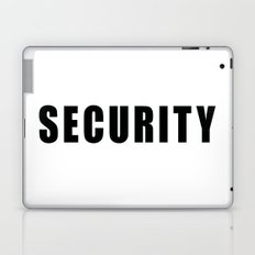 SECURITY TEE SHIRT (inverse edition) Laptop & iPad Skin