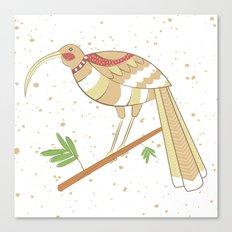 New Zealand Native Birds -  Huia Canvas Print