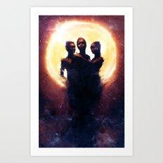 Dark Matter Art Print