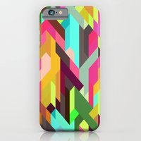 iPhone & iPod Case featuring City 04. by Three of the Possessed