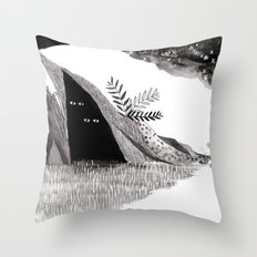 Hiders Throw Pillow