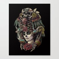 Day Of The Dead (Ancient… Canvas Print
