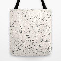 Retro Speckle Print - Bone Tote Bag