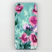 Playful Poppies dreams  iPhone & iPod Skin