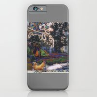 iPhone & iPod Case featuring Clinton Street Revisited by Sara E. Lynch
