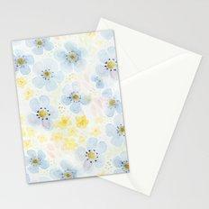 Blue Fields. Fictional Flowers. Stationery Cards