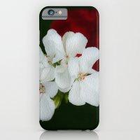 Geranium as art iPhone 6 Slim Case