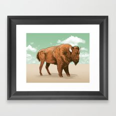 Buffalo Sky Framed Art Print