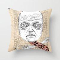 My life with men... Throw Pillow