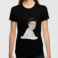 Stella Trust No Bitch OI… Womens Fitted Tee Black SMALL