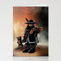 The Dwarven Cleric Stationery Cards