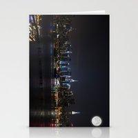 New York Supermoon Stationery Cards