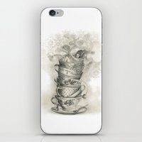 Tea Bath iPhone & iPod Skin