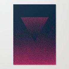 OMBRE / Raspberry Canvas Print