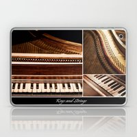 Keys And Strings Laptop & iPad Skin