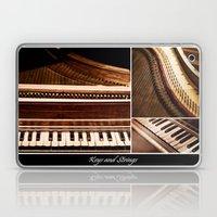 Keys and Strings Laptop & iPad Skin