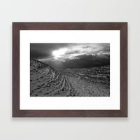 Snow Scene Framed Art Print