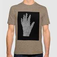 Until The Fingers Began … Mens Fitted Tee Tri-Coffee SMALL