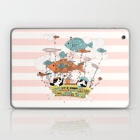 Bathtub Trip Laptop & iPad Skin