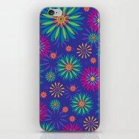 Psychoflower Violet iPhone & iPod Skin