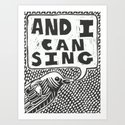 And Your Bird Can Sing Art Print
