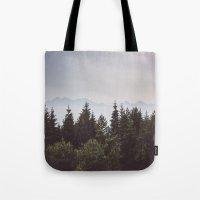 Mountain Range Tote Bag