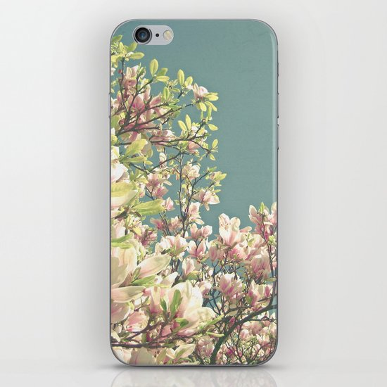 Magnolia in Bloom iPhone & iPod Skin