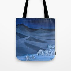Late night on the mountain  Tote Bag