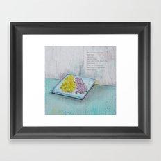 Dripping Fruit Framed Art Print