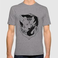 Glam-Bear Mens Fitted Tee Athletic Grey SMALL