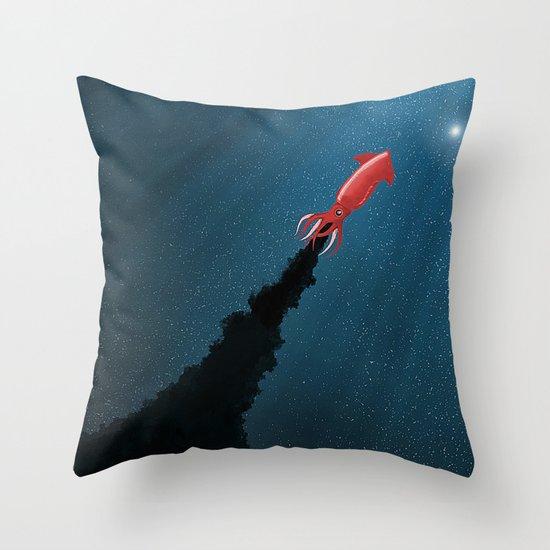 Octonaut Throw Pillow