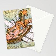 Atlantis Flying Ship #1 Stationery Cards