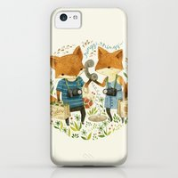 iPhone 5c Cases featuring Fox Friends by Teagan White