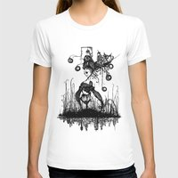 Swamp Lady Womens Fitted Tee White SMALL