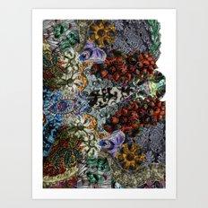 Psychedelic Botanical 15 Art Print