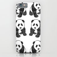 iPhone & iPod Case featuring Panda Mania by Flo Thomas