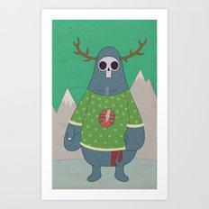 King of Weird Art Print