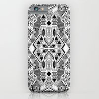 iPhone Cases featuring Busy Body Line Pattern by Stacey Muir