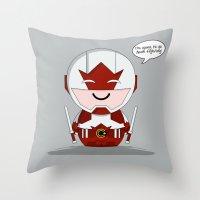 ChibizPop: Canuck Throw Pillow