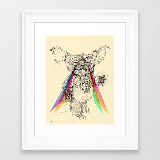 Gizmombie Framed Art Print