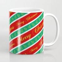 Christmas Wrapping Paper Mug
