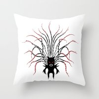 Karma Fairy [DARK] Throw Pillow