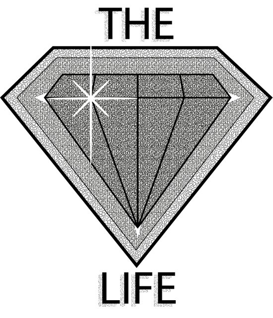 Diamond Life Art Print