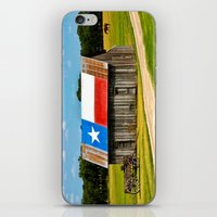 Texas Barn iPhone & iPod Skin