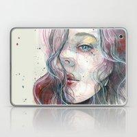 Sleepy Violet, Watercolo… Laptop & iPad Skin