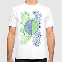 Shape 2 Mens Fitted Tee White SMALL