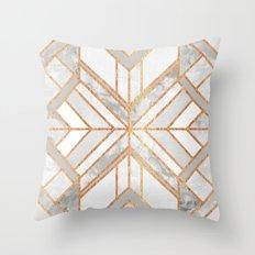 Geo Marble Dream Throw Pillow