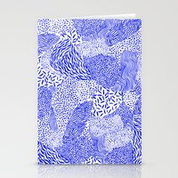 Blue sand Stationery Cards