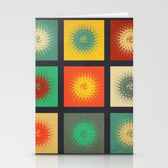 Textures/Abstract 90 Stationery Card