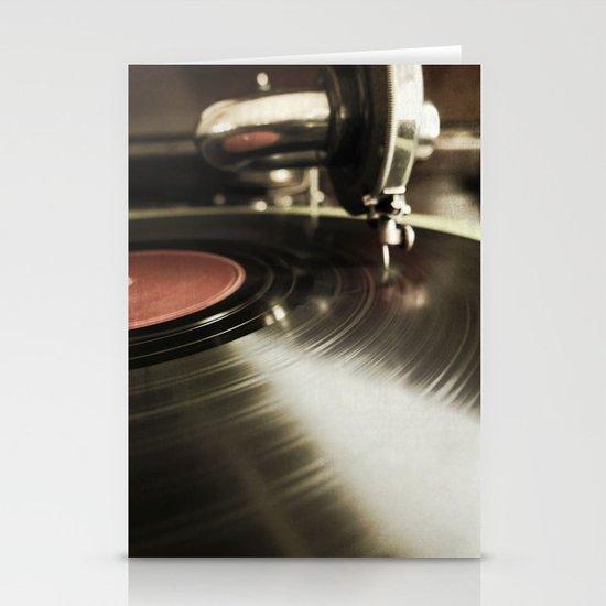 dancin {ANALOG zine Stationery Card